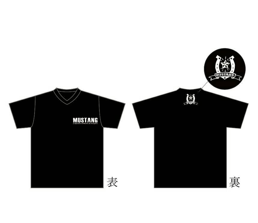 MUSTANG Tシャツ type1(黒)